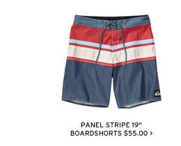 Panel Stripe 19 inch Boardshorts - $55.00