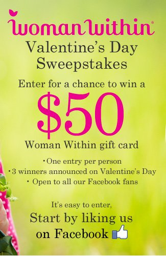 Facebook Valentine's Day Sweepstakes
