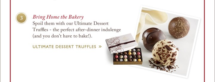 Bring Home the Bakery | ULTIMATE DESSERT TRUFFLES »