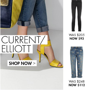 CURRENT/ELLIOTT UP TO 60% OFF