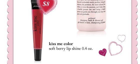 00502360 - .4oz kiss me color - soft berry - sale price $8