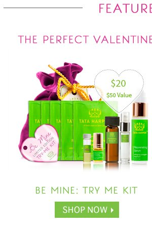 The Perfect Valentine: Shop Be Mine