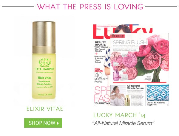 Loved by Press: Elixir Vitae
