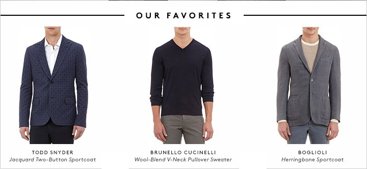 Eventually, the sun will come out. Until then, there's Barneys.com.