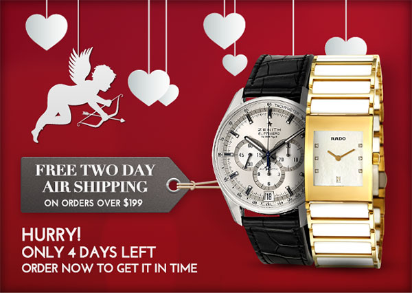 FREE TWO DAY AIR SHIPPING ON ORDERS OVER $199. Hurry! Only 4 Days Left. Order now to get it in time.