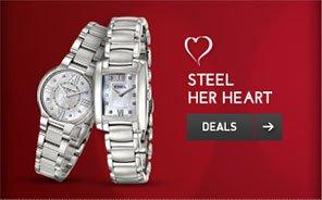Steel Her Heart. Deals >