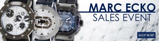 Save up to 53% during the Marc Ecko Watches sales event