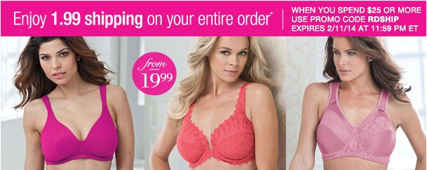 Enjoy $1.99 shipping on your Entire order when you spend $25 or more! Use RDSHIP