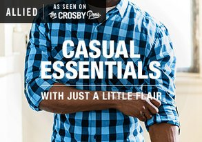 Shop Casual Essentials with Just Enough Pop