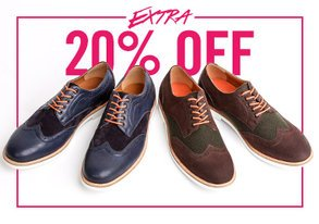 Shop Extra 20% Off: Hillsboro Footwear