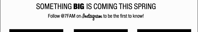 Something Big Is Coming This Spring