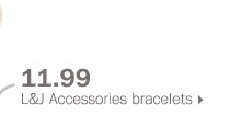 11.99 L&J Accessories bracelets.