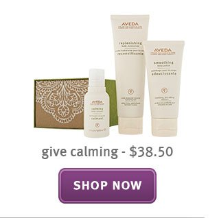 give calming. shop now.
