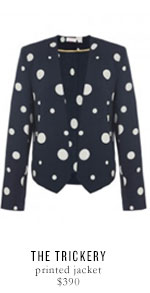 THE TRICKERY printed jacket - $390