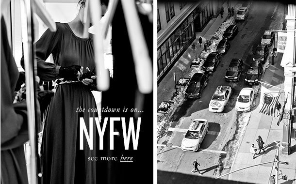 the countdown is on… NYFW see more here