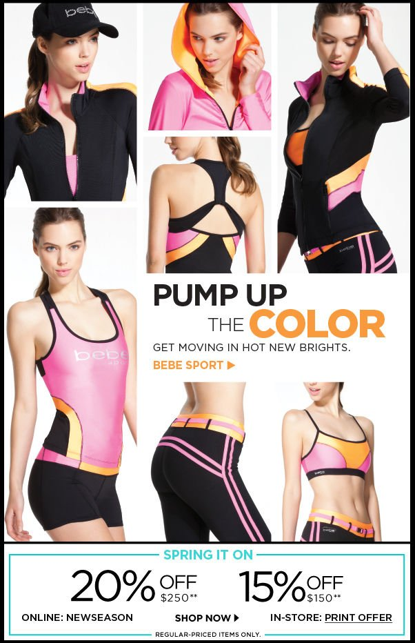 Pump Up the Color