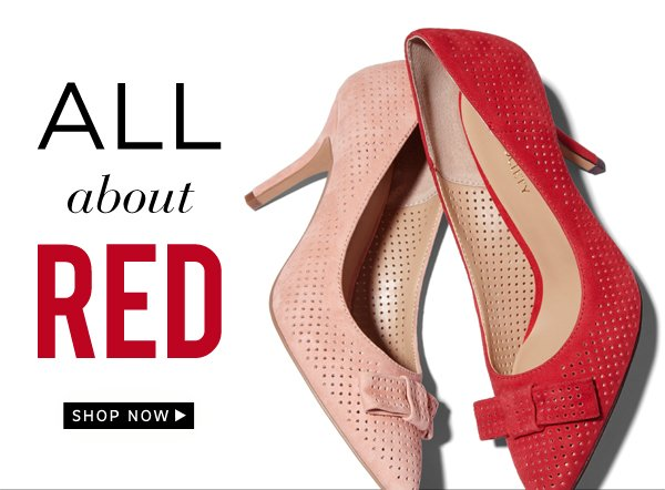 All About Red: Shop Now
