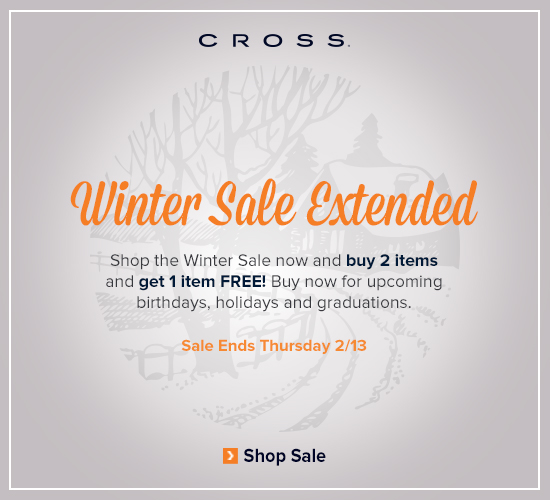 Winter Sale Extended - Buy 2, Get 1 Free.