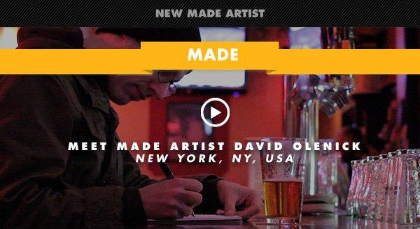 David Olenick Made Shop