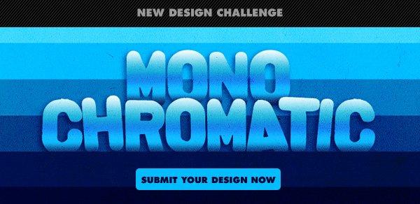 New Design Challenge : Monochromatic