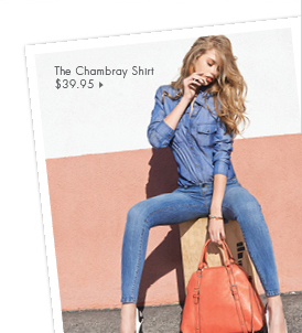 The Chambray Shirt - $39.95