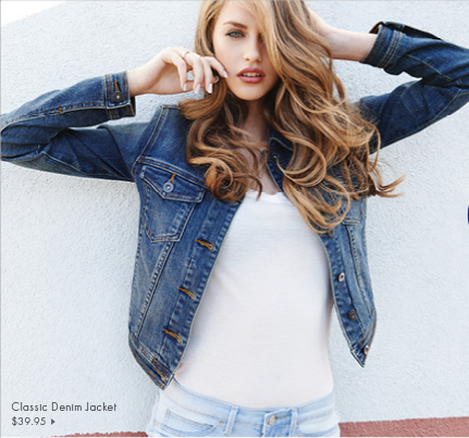 Classic Denim Jacket - $39.95