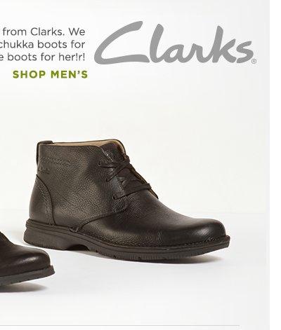Shop Men's Clarks