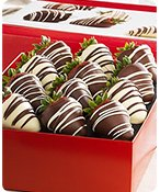 Fannie May Decadent Chocolate Covered Strawberries Shop Now