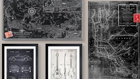 Vintage Maps, Blueprints & more