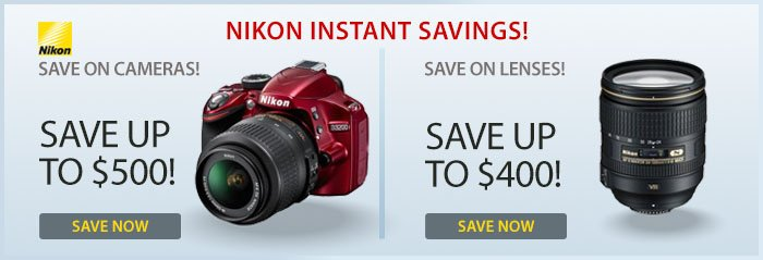 Adorama - Save On Nikon Cameras & Lenses!