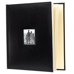 Adorama - Flashpoint Photo Album, Leatherette Collection, Holds 500 4x6 Photos