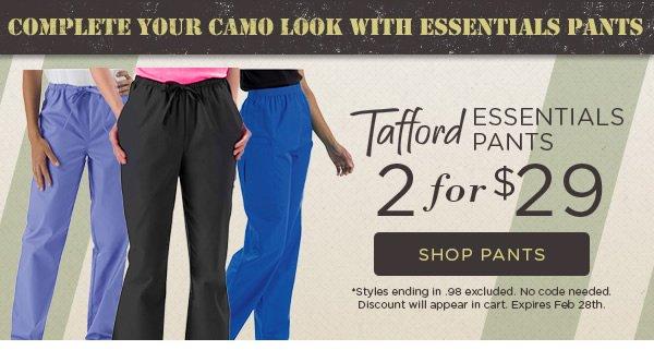 Tafford Essentials Pant 2 for $29 - Shop Pants