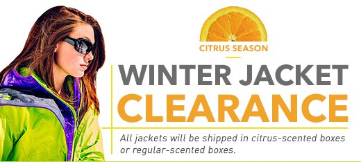 Clearance jackets in your size
