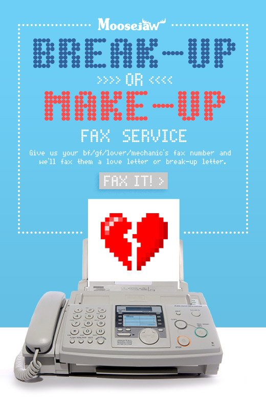 Make Up or Break Up Service