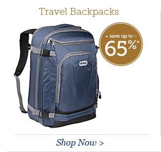 Shop Travel Backpacks