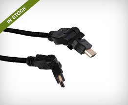 Pearstone Swiveling HDMI Cables