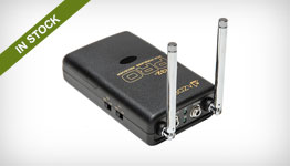 Azden WR32-Pro VHF Dual Channel Receiver for DSLR (169.445 and 170.245MHz)