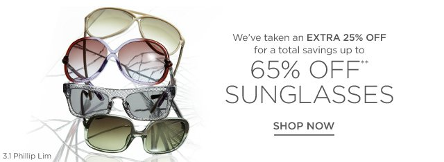 Up to 65% off Sunglasses