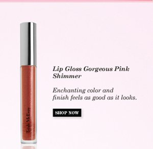 Lip Gloss Gorgeous Pink Shimmer