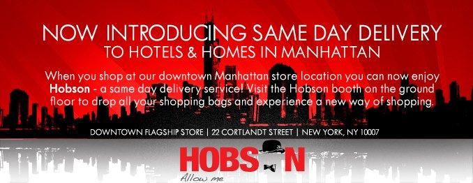 Shop Hobson.