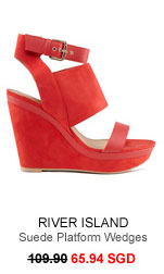 RIVER ISLAND Wedges 65.94 SGD