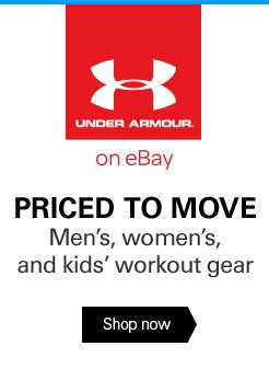 UNDER ARMOUR on eBay: PRICED TO MOVE - Men's, women's, and kids' workout gear - Shop now