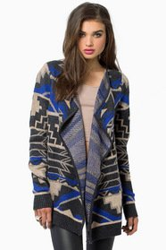 Here to Stay Wrap Cardigan
