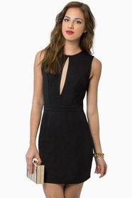 Vix Cutout Bodycon Dress