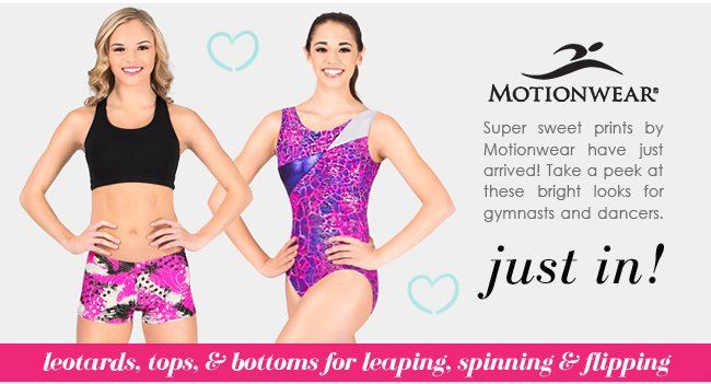 Brand new looks from Motionwear