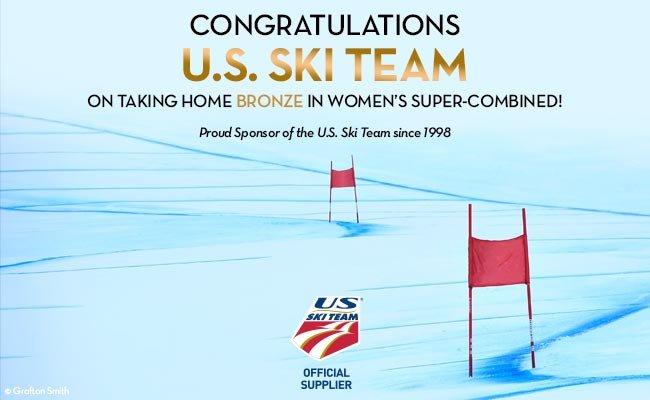 Congratulations U.S. Ski Team