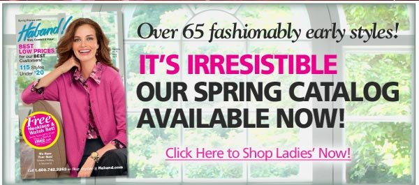 Spring Catalog Available Now!