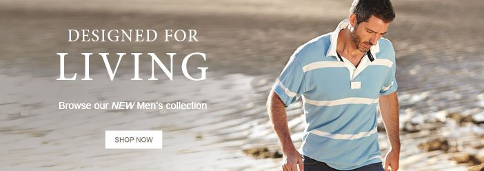 Browse our NEW Men's collection