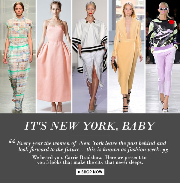 New York Fashion Week - Get in on the hype & Get the Look!