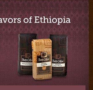 ONLINE EXCLUSIVE -- Taste the Unique  Flavors of Ethiopia -- Ethiopian Explorer Trio
